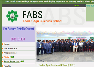 FABS-Food and Agri Business School